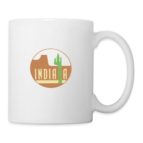 indiana - Mug blanc