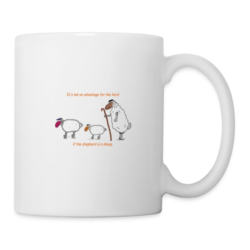 The Shepherd is a sheep - Tasse