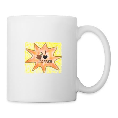I love coffee - Muki
