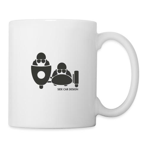 BASSET LOGO - Mug blanc