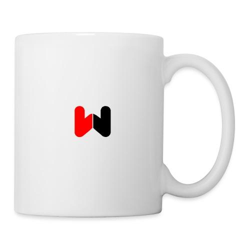 W (Black / Red Logo) - Mug