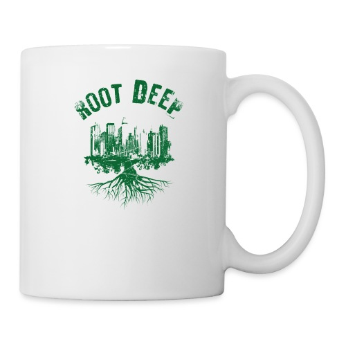 Root deep Urban grün - Tasse