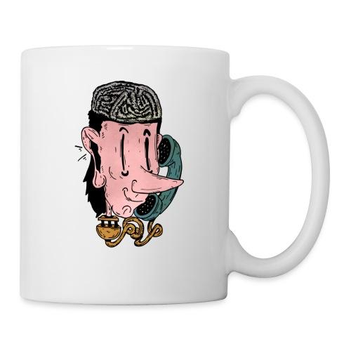 talk on the phone - Mug