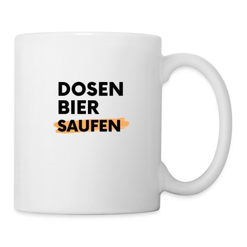 Dosenbier Saufen - Tasse