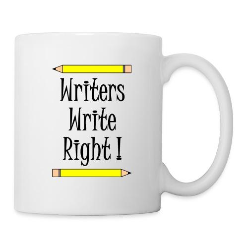 Writers Write Right - Mug