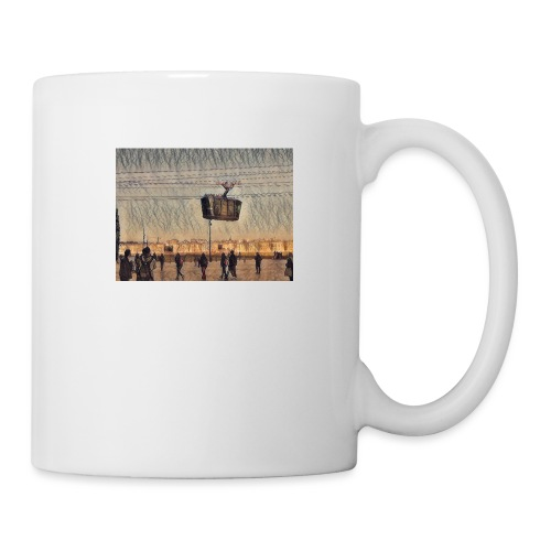Téléphérique brestois - Mug blanc