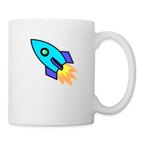 Blue rocket - Mug