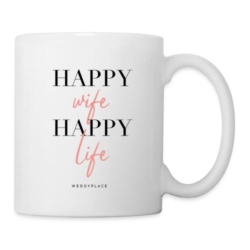 Happy Wife Happy Life - Tasse