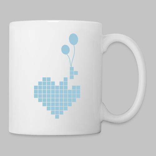 heart and balloons - Mug