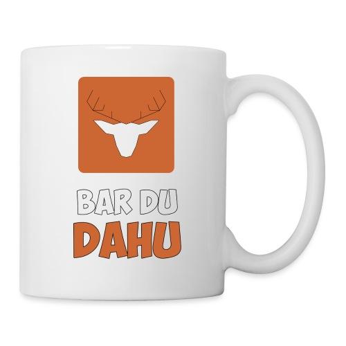 Texte Bar du Dahu - Mug blanc