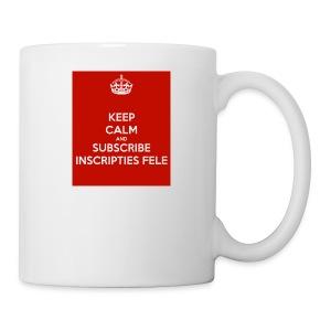 inscripties fele subtshirt - Mok