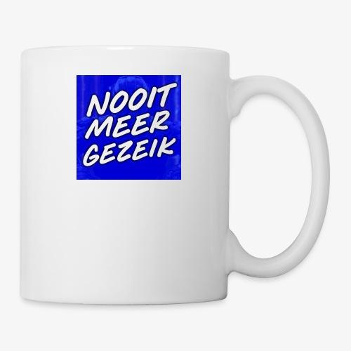 De 'Nooit Meer Gezeik' Merchandise - Mok