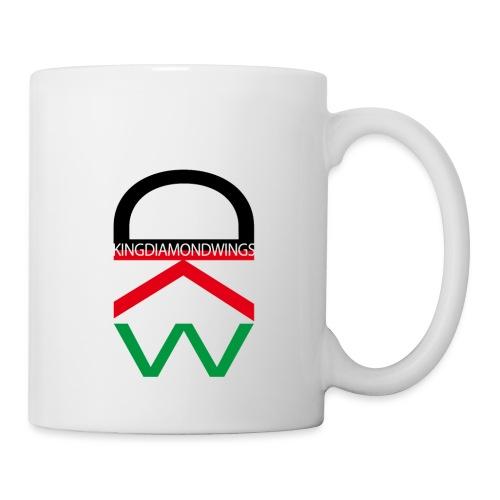 King Diamond Wings Colored Logo - Mug