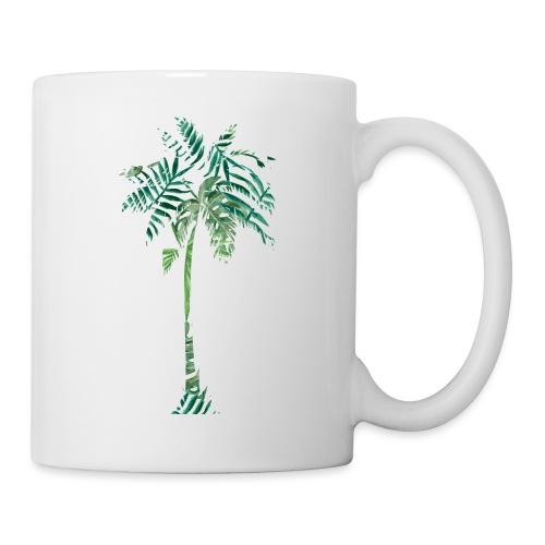 Fancy Palme Grün - Tasse