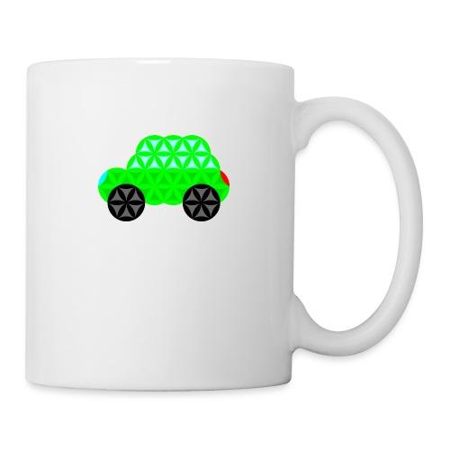 The Car Of Life - M01, Sacred Shapes, Green/R01. - Mug