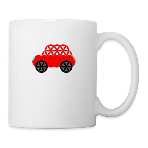 The Car Of Life - M01, Sacred Shapes, Red/R01. - Mug