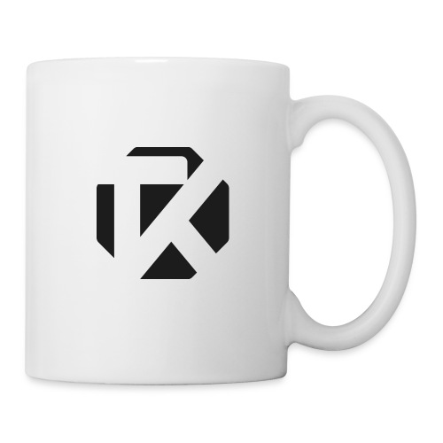 Logo TK Noir - Mug blanc