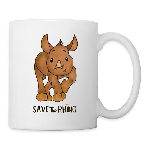 Save the Rhino - Mug