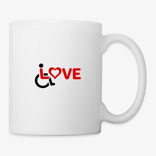> Rolstoel liefde, rolstoelgebruiker, roller - Mok