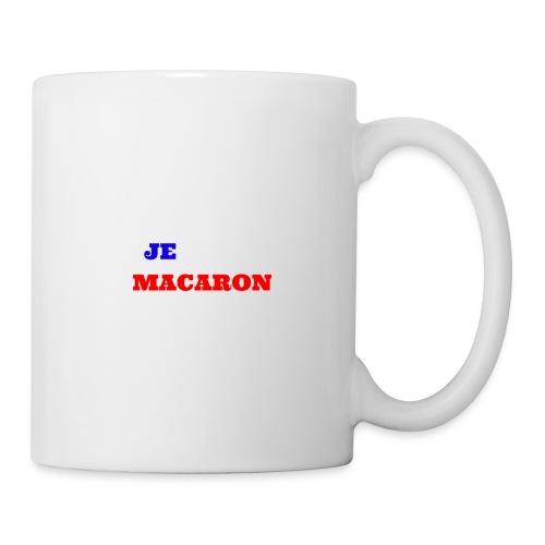 JE VOTE MACARON - Mug blanc