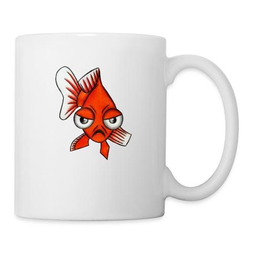 Angry Fish - Mug blanc