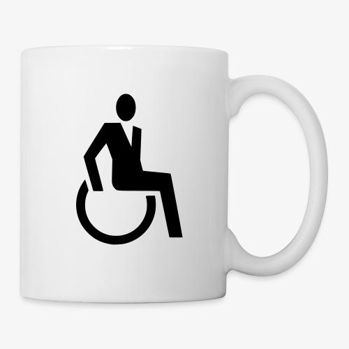 Sjieke rolstoel gebruiker symbool - Mok