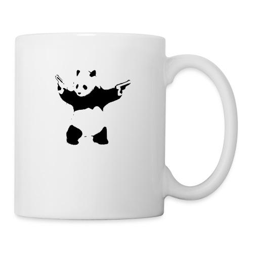 oso panda pistolas - Taza