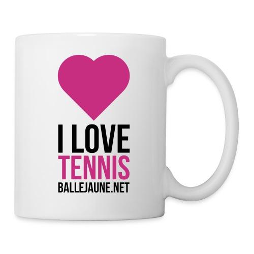 i-love-tennis - Mug blanc