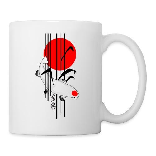 Bamboo Design - Nishikigoi - Koi Fish 5 - Tasse