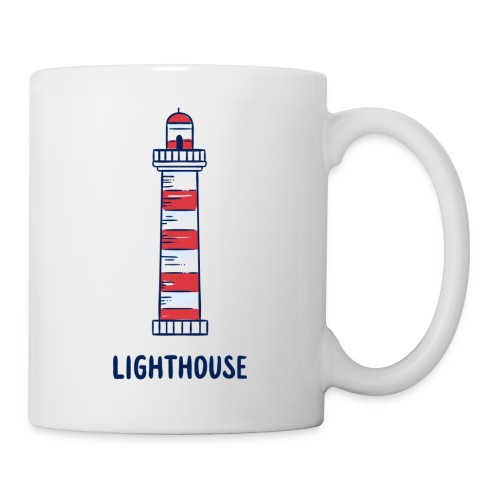 Lighthouse - Tasse