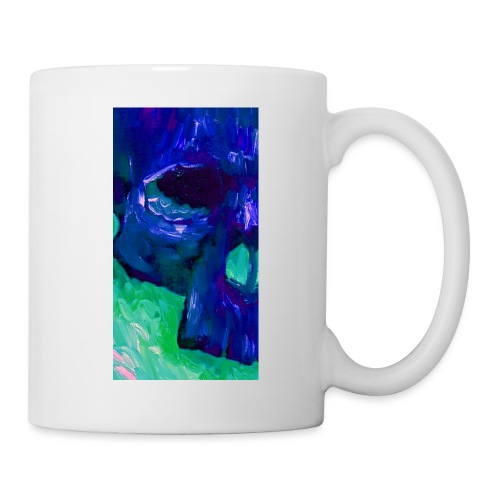 Blue Skull #2 - Mok