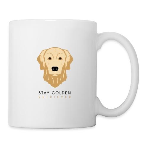 Golden Retriever - Dark - Tazza