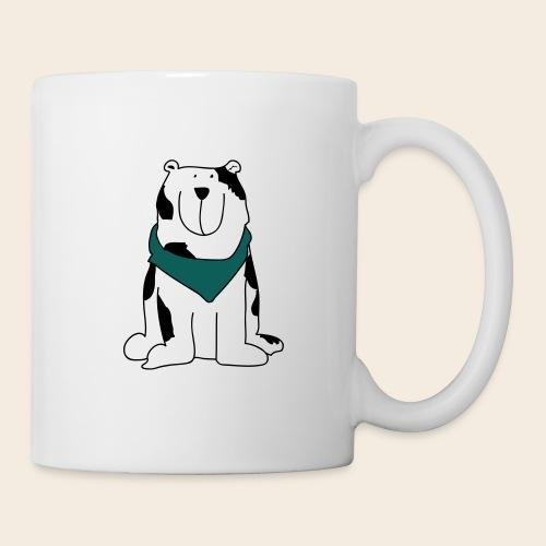 Gros chien mignon - Mug blanc