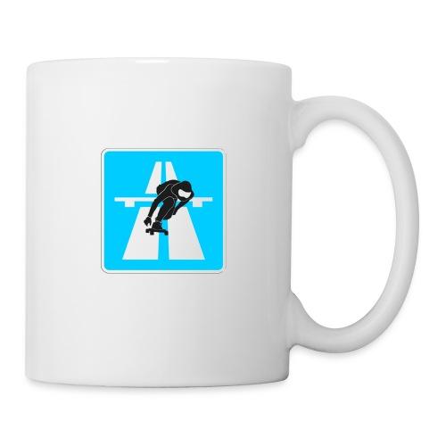 Autobahn Downhill Skater - Tasse