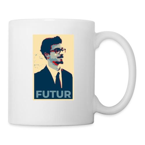 FUTUR - Poster - Mug blanc