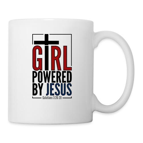 Girl powered by Jesus - Mugg