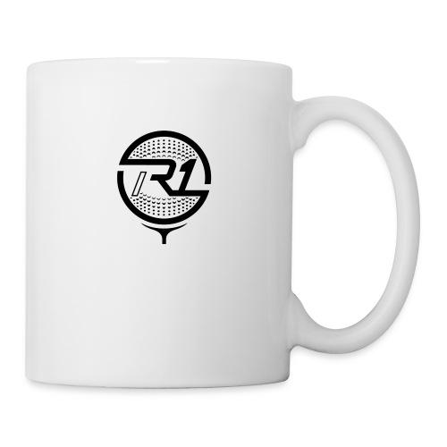 logo R1 golf pro noir - Mug blanc