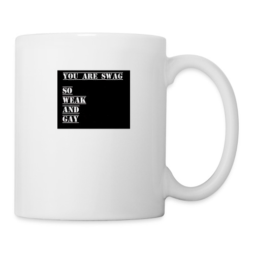 So weak and gay shirt - Mug