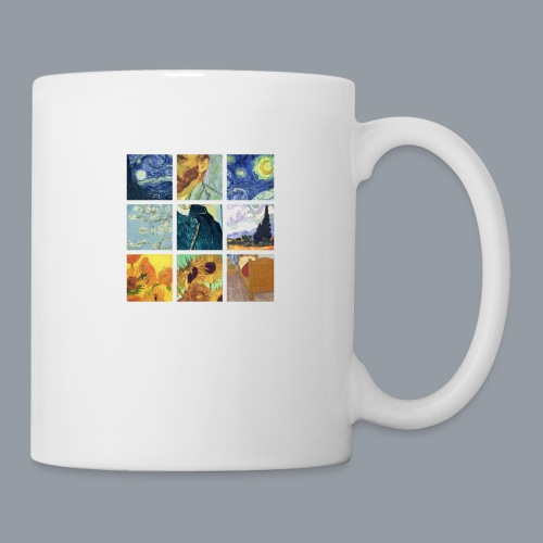 VAN GOGH COLLAGE - Taza