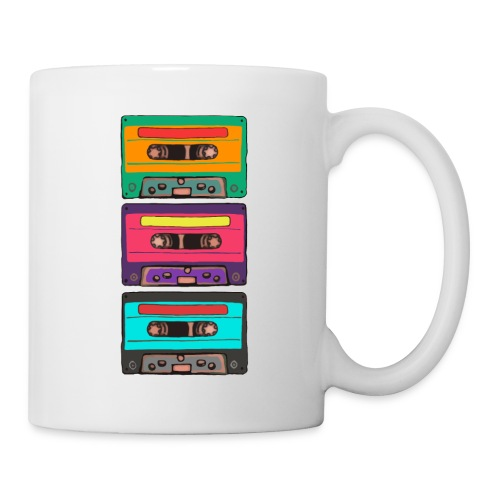 Colorful Cassettes row - Mugg