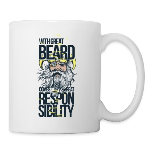 With a great beard comes great responsibility - Tazza