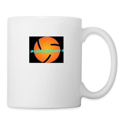LOGO PixForCraft (Le logo de Juin 2017) - Mug blanc