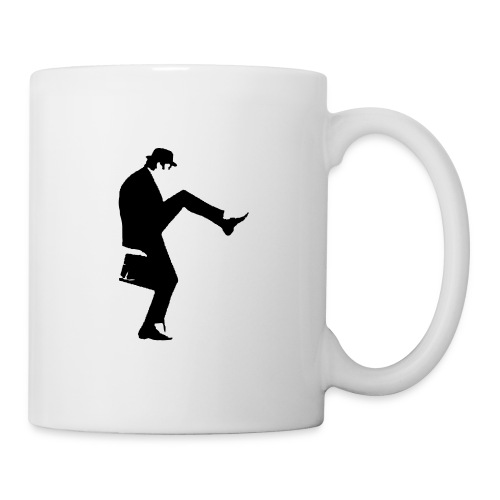 cleese walk black - Mug