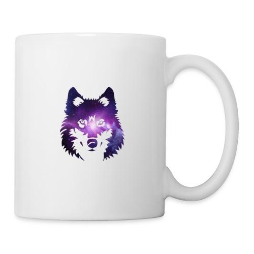 Galaxy wolf - Mug blanc