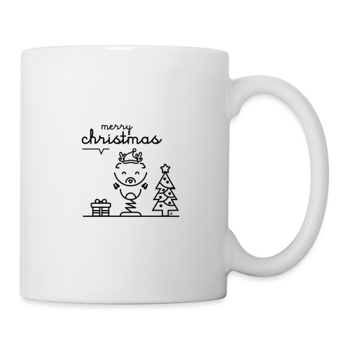 Noël reindeer 2 - Mug blanc