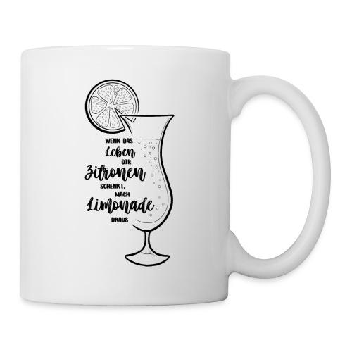 Wenn das Leben dir Zitronen schenkt - Illustration - Tasse