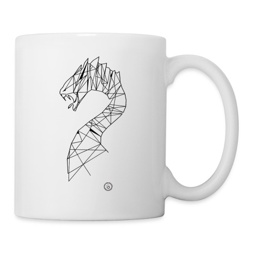 Jormundgard - Geometrisk lineart - Kop/krus