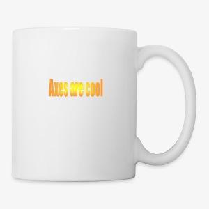 Axes are cool - Mug