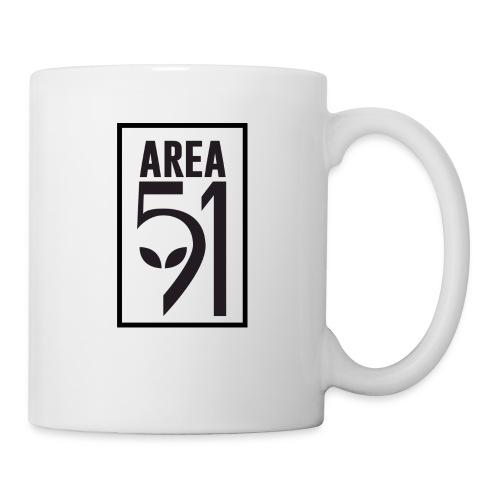 Area 51 raid + - Mug blanc