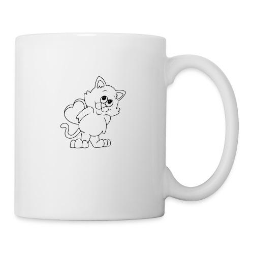 La Le Petit filon chat - Mug blanc